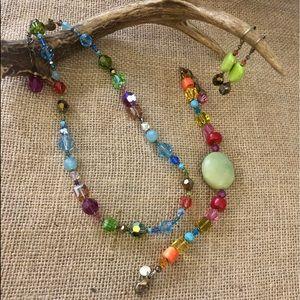 🧺 EMILY RAY Multi Earrings Necklace Bracelet Set